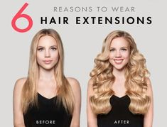 Are you considering buying hair extensions, but not sure if it's worth taking the plunge? Here are our top 6 reasons why you should wear hair extensions!