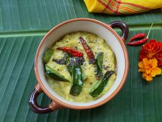 Kerala Parippu Curry   Yellow Moong Dal With Coconut Recipe for Kerala Parippu Curry   Yellow moong dal with coconut   Onam Parippu recipe - One recipe that is a MUST have in an Onam Sadya, a simple flavourful moong dal recipe