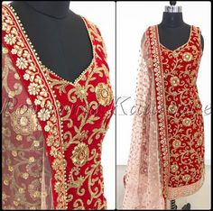 Custom made availaible at Royal Threads Boutique. To order whatsapp at Indian Bridal Outfits, Indian Bridal Wear, Indian Fashion Dresses, Dress Indian Style, Pakistani Dresses, Indian Wear, Indian Gowns, Designer Punjabi Suits, Indian Designer Outfits
