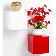 Onlineshoppee Beautiful Design MDF Wall Shelf.