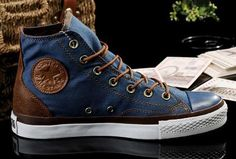 2013 New Converse All Star Vampire Diaries Blue Denim Couples Sneakers High Tops [J13050601] - $58.00 : Discount Converse All Star Sneakers Sale,Converse All Star Sandals,Comics and Womens Platform Sneakers