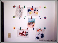 Playroom Wall Art: PB Kids Knock-Off - Mad in Crafts