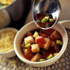 This low-calorie side dish soup recipe is ready to eat in just 30 minutes.