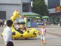 Giraffe Car. Photo by Cynthia Berning, 2006.