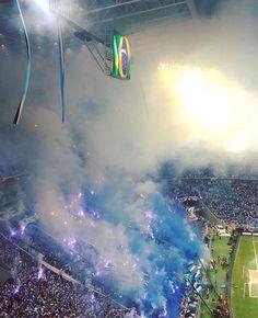 Geral do Grêmio - 22/11/2017 - Final Copa Libertadores da América   #Grêmio #Copeiro #TriDaAmerica #NosVamoAcabaComOPlaneta #SoyLocoPorTri #Tricolor #Arquibancada #Torcida #GeralDoGremio #Hincha #Hinchada #Football #Soccer #Addict #Fans #Foguete #Final #Libertadores #art #fashion