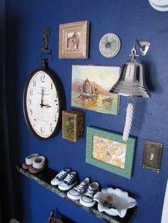 Eclectic Peter Pan themed nursery or, as it should be titled: how to make a theme with skill and subtlety!
