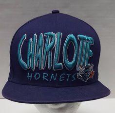 New Era 9Fifty NBA Charlotte Hornets Hat Snapback Cap One Size Embroidered Logo #NewEra #CharlotteHornets