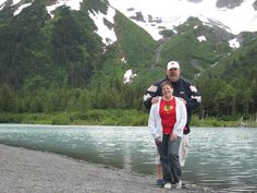One of my fave pics of Bob and I outside of my hometown Anchorage, Alaska. (Taken June, 2010) If you have never seen the true beauty in God's creation you have never been to Alaska...