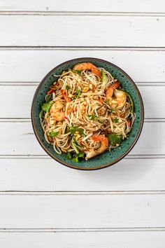 Shakin & Bakin Foodie Blog: Rice Noodle Salad with Mint and Cilantro Recipe