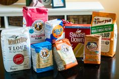 Growing up, I'm not sure I knew there was more than one kind of flour. There was just … FLOUR. Yes, my mom would buy whole wheat bread, but we didn't have whole wheat flour in the house. The …