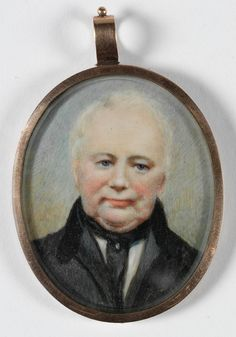 William Lawson, ca. 1840's - watercolour on ivory miniature  MIN 63 from the collection of the State Library of NSW www.sl.nsw.gov.au