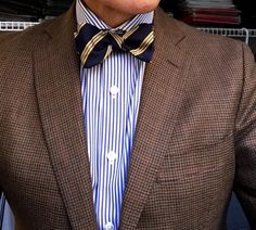 "michigantrad: ""Bow tie Wednesday. """
