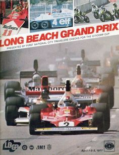 @MarioAndretti A 1977 Long Beach GP program cover . . . back in the day! #F1 #SPEEDF1 #F1Chat