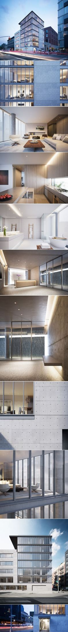Tadao Andou0027s First Residential Project in New