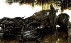 BATMAN with BATMOBILE 1