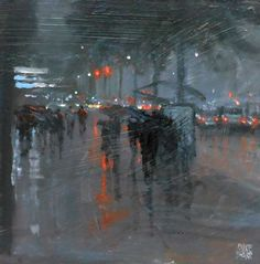 Mike Barr, 1955 | Impressionist painter | Tutt'Art@