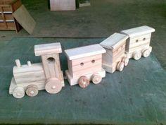 Juguetes de madera para Navidad