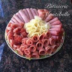 Miniature cold-cut platter!! Serves 10-15 people.  #coldcutplatter #prosciutto #mortadella #jambon #provolone #capicollo #patisseriemontebello #montrealbakery #montreal  3322-Fleury E.  514.321.5567