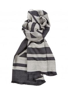 MONOGRAM SCARF Solid Wool
