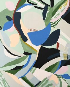 "Figure out even more info on ""modern abstract art painting"". Take a look at our web site. Boho Pattern, Pattern Art, Pattern Painting, Colour Pattern, Pattern Design, Green Pattern, Surface Pattern, Art And Illustration, Abstract Print"