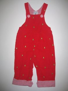 74f5eb8e4 Mudpie 12 18 Mos Red Christmas Tree Overalls Longall Boutique I Believe  Holiday #MudPie Mudpie
