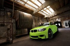 BMW 1-Series M Coupe in Irie Green