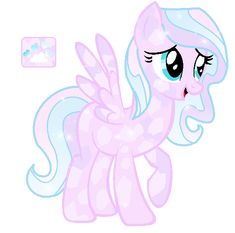 Taken from http://monkfishyadopts.deviantart.com/art/Crystal-Pony-Adoptable-Auction-SOLD-405786821