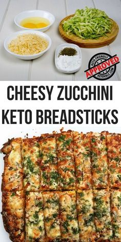 Cheesy Zucchini Breadsticks Low Carb Gluten-Free Recipe - Low Carb Zucchini Breadsticks Recipe for Keto Diet Best Picture For crockpot recipes For Your Tas - Low Carb Keto, Low Carb Recipes, Diet Recipes, Healthy Recipes, Low Carb Vegetarian Recipes, Diet Desserts, Chicken Recipes, Cod Recipes, Vegetarian Appetizers
