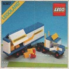6367-1: Semi Truck | Brickset: LEGO set guide and database