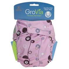 GroVia® Shell Snap Closure - One of my favorite diaper covers!