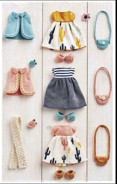 Mollie Makes issue out now! - Mollie Makes Mollie Makes, Doll Crafts, Diy Doll, Doll Clothes Patterns, Clothing Patterns, Sewing Patterns, Felt Doll Patterns, Barbie Clothes, Sewing Clothes