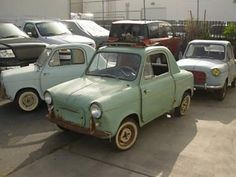 Learn more about Three Car Lot: 1960 Vespa 400 Microcars on Bring a Trailer, the home of the best vintage and classic cars online. Vespa 400, Triumph Motorcycles, Ducati, Chopper, Mopar, Motocross, Vespa Vintage, Scooters For Sale, Miniature Cars