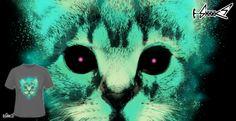 T-shirts - Design: Cosmic Cat - by: Lou Patrick Mackay