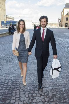 Prince Carl Philip and Sofia Hellqvist are getting ready for their wedding in June.