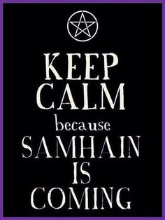 Samhain- blessed be!!