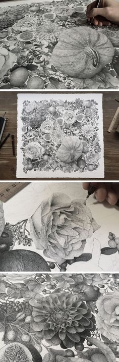 Millions of Hand-Inked Dots Comprised this New Stippled Illustration by Xavier Casalta