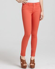 Yes, I will be following the popular colored jean trend this summer. I loved the idea of a sky blue jean but realized how quickly they would get dirty, so I am settling on coral.