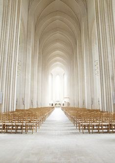 grundtvig's church in Copenhagen shows how elements of the timeless basilica can be represented in a modern lens