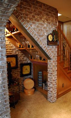 Unfinished Basement Ideas - Transform your incomplete cellar into lovely, useful living space. Framing basement wall surfaces as well as ceilings is the core of any kind of cellar completing task. Rustic Basement, Basement Stairs, Basement Ideas, Basement Bedrooms, Basement Decorating, Basement Apartment, Walkout Basement, Basement Designs, Framing Basement Walls