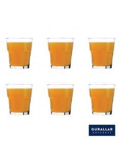 Buy Gurallar 6Pc Glass Tumbler Aras 250 Ml-258005 online at happyroar.com