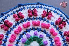 Dearest Debi Crochet Mandala for Marinke - A crochet mandala pattern in memory of Markine from acreativebeing.com to help raise awareness for depression.