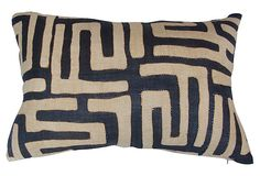 Kuba Cloth  Pillow on OneKingsLane.com