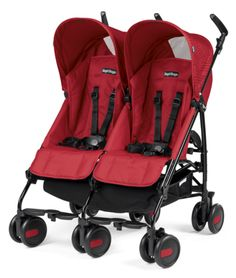 Peg Perego Pliko Mini Twin-kinderwagen in Mod Red - Stollers Baby Jogger Stroller, Twin Strollers, Double Strollers, Best Double Pram, Double Prams, Double Stroller For Twins, Peg Perego, Umbrella Stroller, Mini