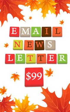 Email News LEtter at $99.