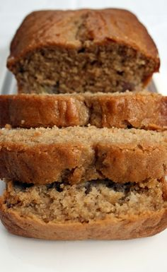 Pear and Banana Loaf from Some More Please! http://somemoreplease.wordpress.com/2008/12/05/pear-and-banana-loaf/