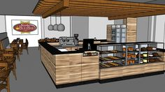 Large preview of 3D Model of BULEBAR CAFÉ