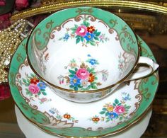 17 Best images about Tea Cup and Saucer on Pinterest | Pistachios ...