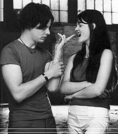Uploaded by Find images and videos about jack white, the white stripes and meg white on We Heart It - the app to get lost in what you love. Meg White, Jack White, Black And White, Music Love, Music Is Life, Good Music, My Music, The White Stripes, Rolling Stones