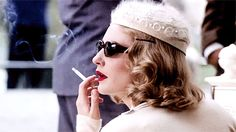 Cate Blanchett as Meredith Logue in The Talented Mr. Ripley, directed by Anthony Minghella, costumes by Gary Jones and Ann Roth, 1999.