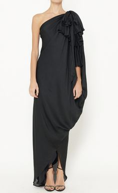 Temperley London Black Dress